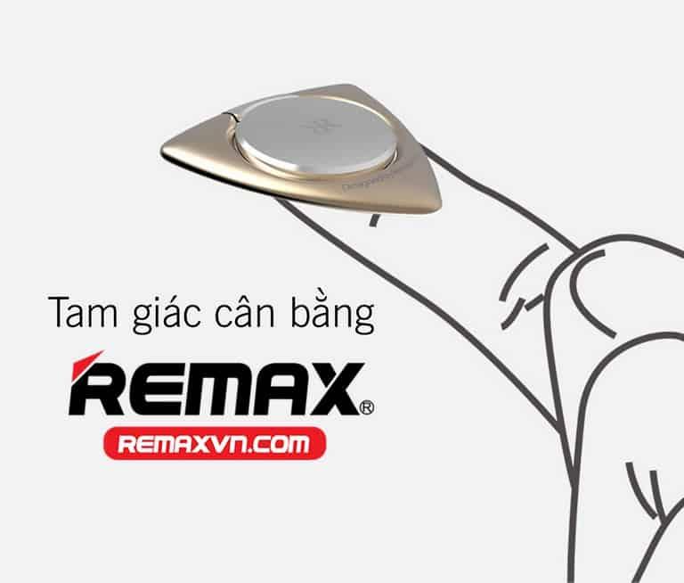 REMAX ZH–02được thiết kế theo hình tam giác