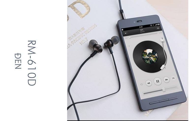 Tai nghe REMAX RM 610D - Màu Đen