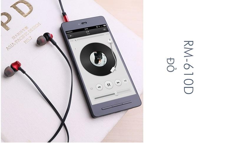 Tai nghe REMAX RM 610D - Màu Đỏ