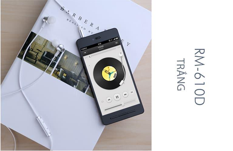 Tai nghe REMAX RM 610D - Màu Trắng