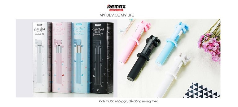 Remax XT-P01 có kích thước nhỏ gọn, dễ mang theo