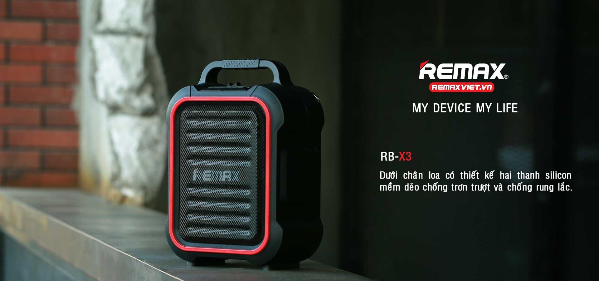 """Loa Bluetooth RB-X3 """"Âm thanh Trung thực, Sống động hơn"""""""