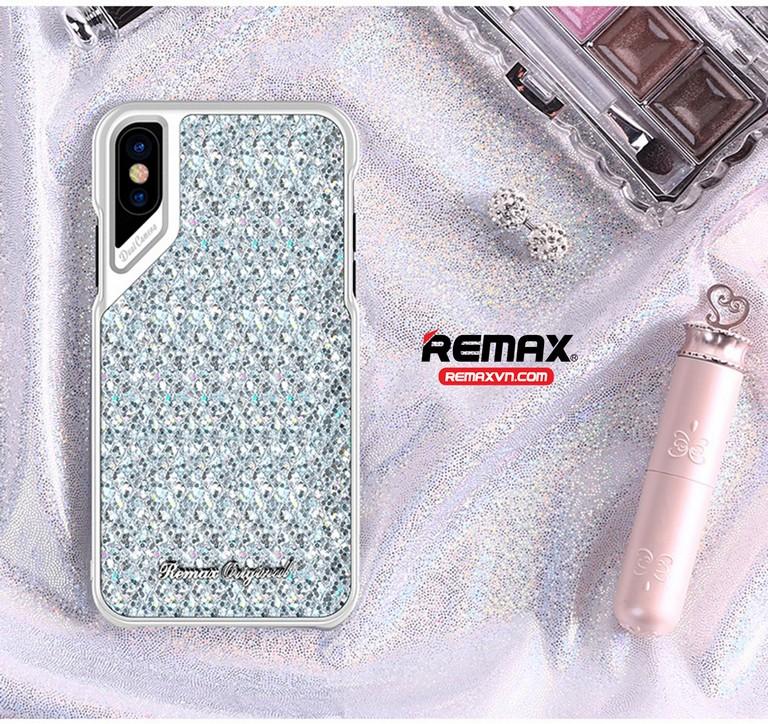 Ốp lưng Iphone X RM-1652 có chất liệu bền bỉ chống móp méo và va đập