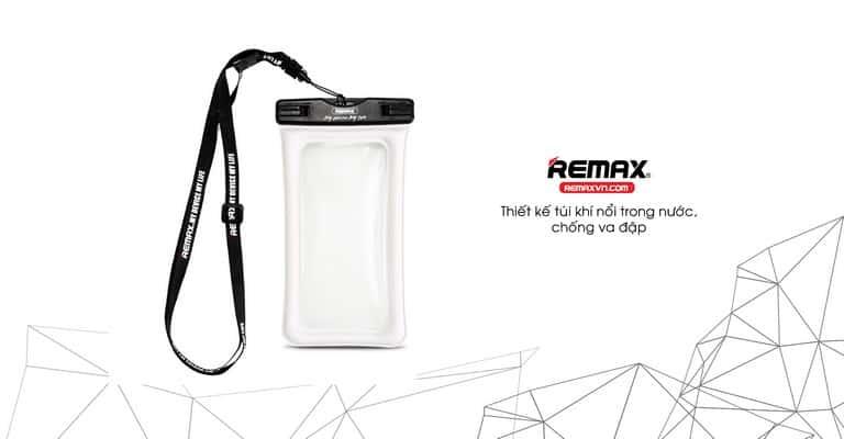 RT-W2có thiết kế túi khí nổi trong nước, chống va đập và không bị mất máy khi chẳng may bị rơi