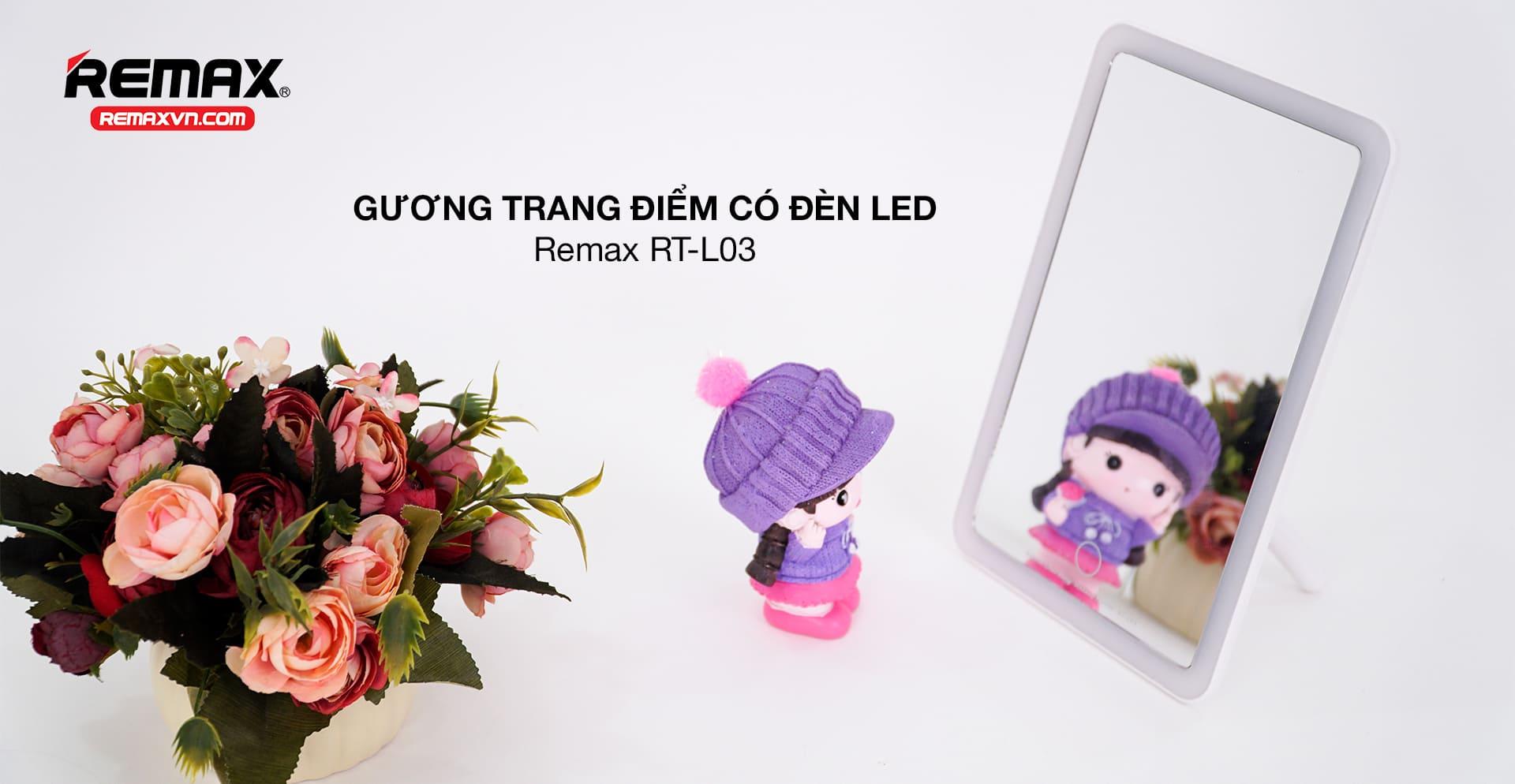 Gương trang điểm có đèn led RT-L03
