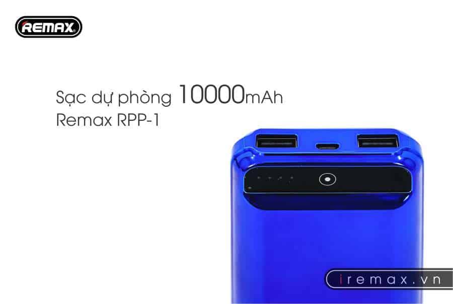 sạc dự phòng rpp-1-remax-10000mAh