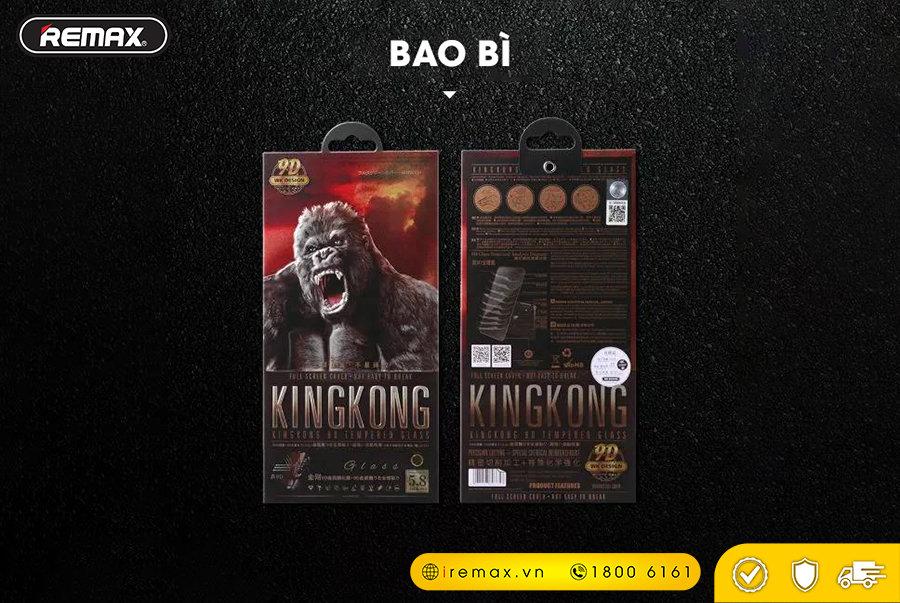 Kính Cường Lực King Kong 9D Remax