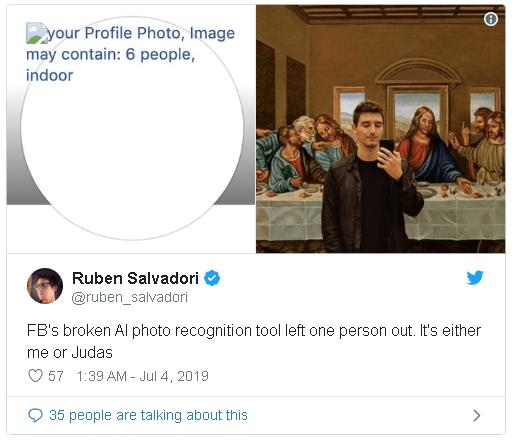 Lỗi không load được ảnh ngày hôm qua cho thấy cách AI Facebook phân loại ảnh của bạn như thế nào