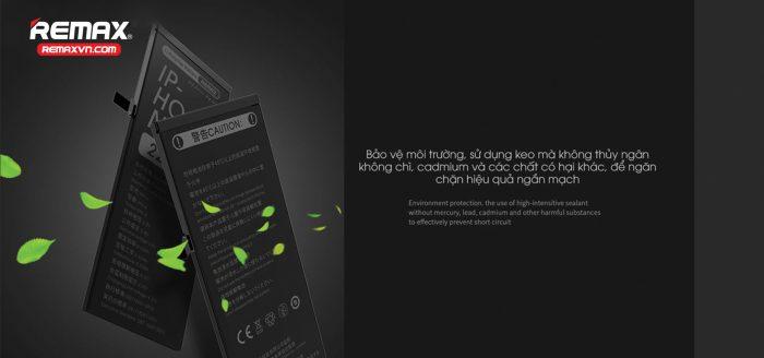 Ưu điểm của pin iPhone 6s Plus Remax chính hãng