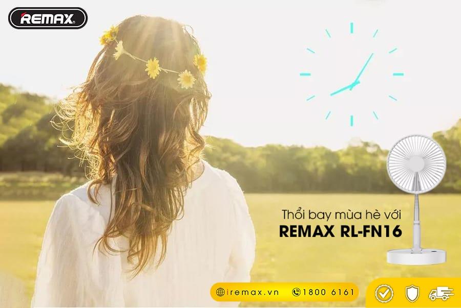 Quạt cầm tay, để bàn mini Remax RL-FN16