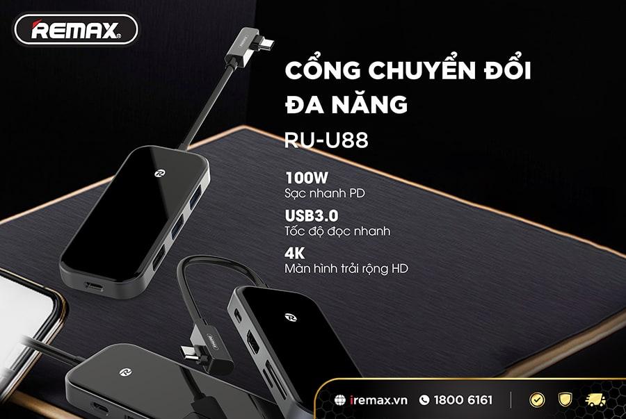 Cổng chia Remax RUU88
