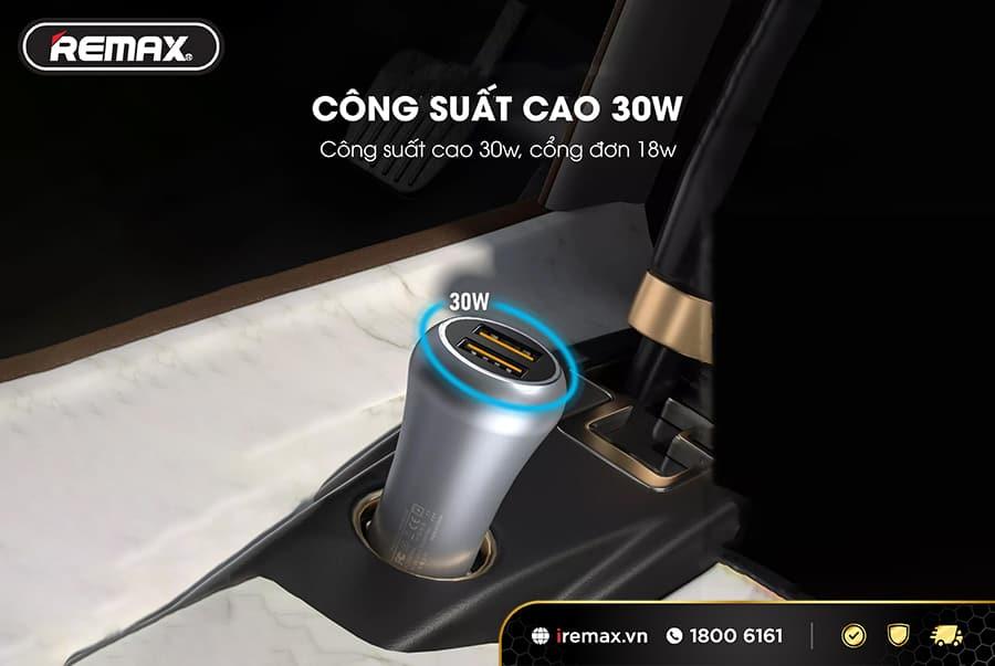 Củ sạc ô tô QC3.0 WK WP-C23