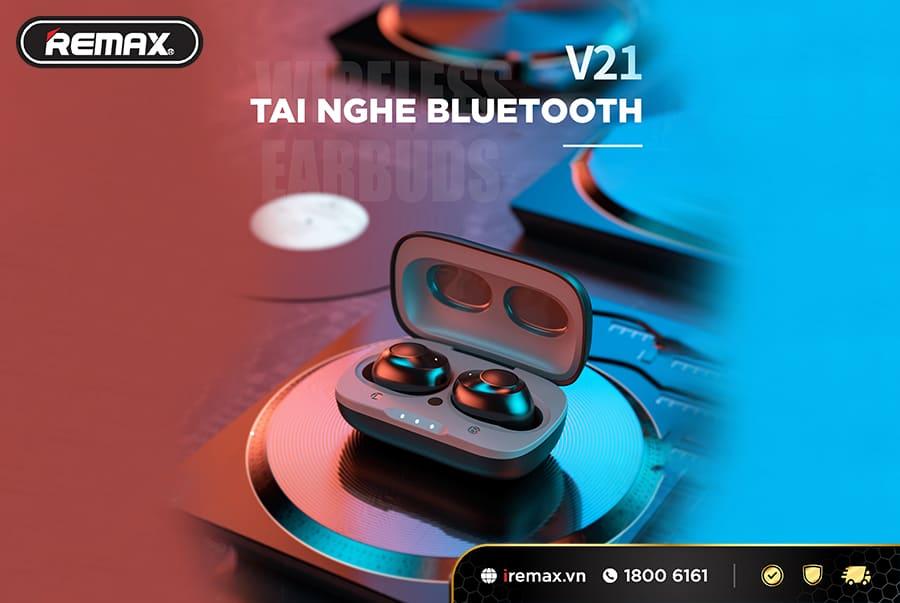 Tai nghe Buletooth mini WK TWS V21