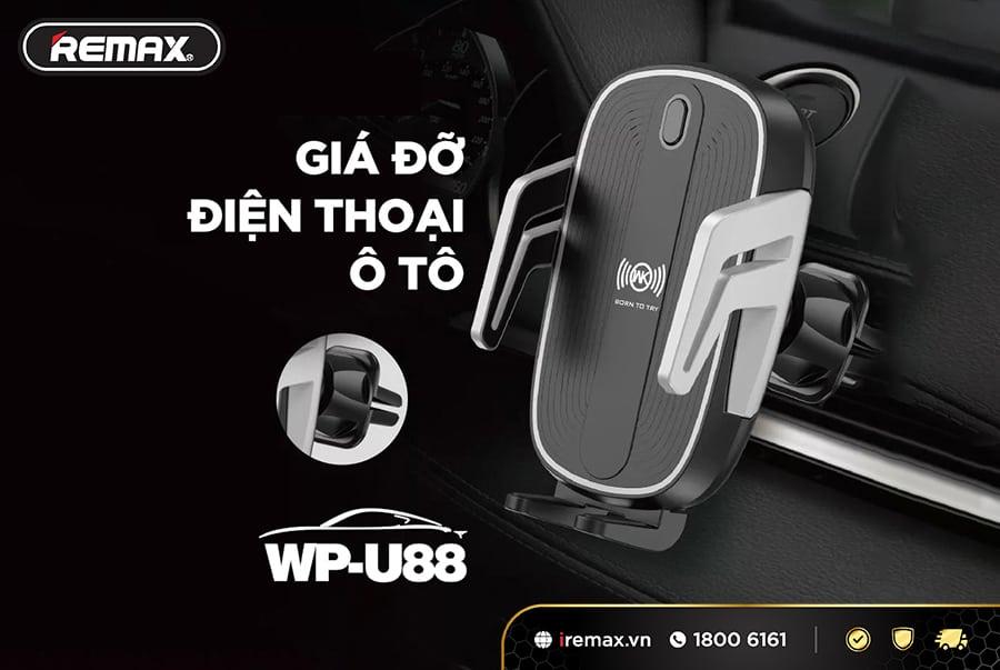 Giá đỡ điện thoại kiêm sạc WP-U88
