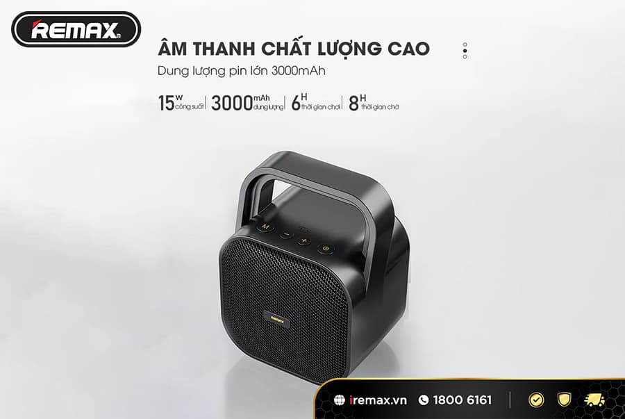 Loa bluetooth xách tay Remax RB-M49